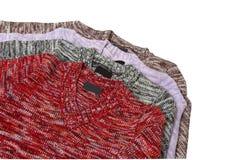 Vier warme sweaters. Royalty-vrije Stock Foto