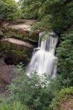 Vier Watervallengang in Brecon-Bakens Royalty-vrije Stock Foto