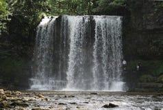 Vier Watervallengang in Brecon-Bakens Royalty-vrije Stock Fotografie