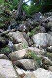 Vier Watervallengang in Brecon-Bakens Stock Afbeelding
