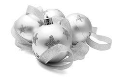 Vier Weihnachtsspielwaren Stockfoto