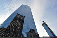 Vier World Trade Center New York Lizenzfreie Stockfotos