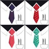 Vier zakenlieden Stock Illustratie