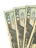 Vier Zwanzig Dollarrechnungen Stockfotos