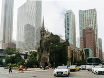 Vierde Presbyteriaanse Kerk in Chicago Royalty-vrije Stock Foto