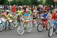 vierde van de Parade van Juli Royalty-vrije Stock Afbeelding