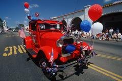vierde van de parade van Juli Stock Fotografie
