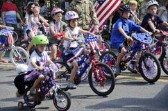 Vierde van de parade van Juli royalty-vrije stock foto's