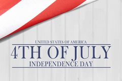 Vierde van Juli-de Achtergrond van de Onafhankelijkheidsdag royalty-vrije stock fotografie