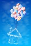 Vierde van Juli De achtergrond van de onafhankelijkheid Day De V royalty-vrije stock afbeelding