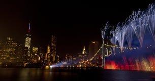 vierde van Juli-de Stad van vieringsnew york (2014) Stock Afbeeldingen