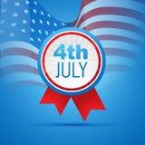 vierde van juli onafhankelijkheidsdag Royalty-vrije Stock Foto's