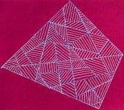 Viereck von Linien Stockbild
