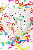 Vierend nieuw jaar Royalty-vrije Stock Foto's