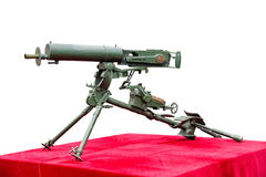 Vierentwintig type 7 92mm Stelregelmachinegeweren Royalty-vrije Stock Afbeeldingen