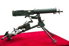 Vierentwintig type 7 92mm Stelregelmachinegeweren Stock Afbeeldingen