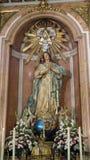 Vierge-cathédrale de Valence Photos stock