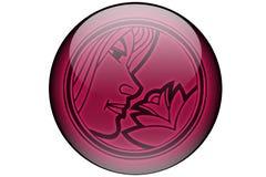 Vierge d'horoscope Photo stock