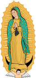 Vierge de Guadalupe Images stock