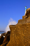 Vierge de Guadalupe, Acapulco, Mexique Photographie stock libre de droits