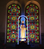 vierge du Vietnam de statue de tombeau de saigon de Mary Photographie stock libre de droits