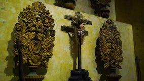 Vierge Marie avec la chéri Jésus banque de vidéos
