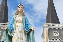 Vierge Marie béni Images libres de droits