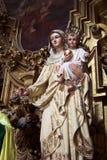 Vierge Marie et enfant photo libre de droits
