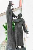 Vierge Marie et père Pio Photos stock
