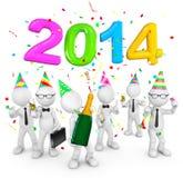 Viering - 2014 stock illustratie