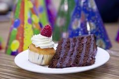 Viering met cakes Stock Afbeeldingen