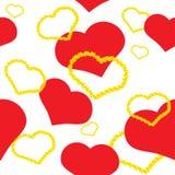 Viering met hart Vector Illustratie