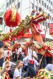 Viering van Chinees Nieuwjaar in Brazilië Royalty-vrije Stock Foto's