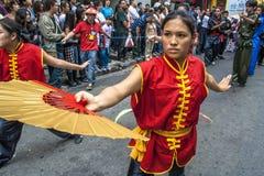 Viering van Chinees Nieuwjaar in Brazilië Royalty-vrije Stock Afbeelding