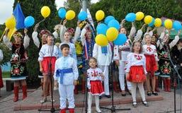 Viering van de Onafhankelijkheidsdag Royalty-vrije Stock Foto's