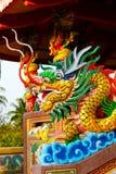 Viering van het Chinese nieuwe jaar in de tempel Saphan Hin Royalty-vrije Stock Foto