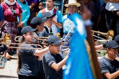 viering van 197 jaar van onafhankelijkheid van Guatemala royalty-vrije stock foto