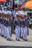 viering van 197 jaar van onafhankelijkheid van Guatemala royalty-vrije stock foto's