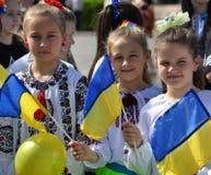 Viering van Oekraïens Borduurwerk Day_2 Royalty-vrije Stock Afbeeldingen