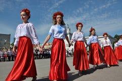 Viering van Oekraïens Borduurwerk Day_12 Royalty-vrije Stock Fotografie