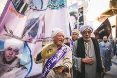 Vieringenmanier Rifai Sufi Egypte Royalty-vrije Stock Foto