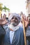 Vieringenmanier Rifai Sufi Egypte Stock Fotografie