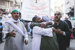 Vieringenmanier Rifai Sufi Egypte Royalty-vrije Stock Afbeeldingen