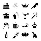 Vieringspictogram royalty-vrije illustratie