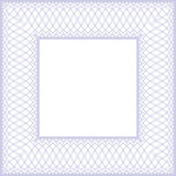 Vierkant abstract achtergrondgrenskader stock illustratie
