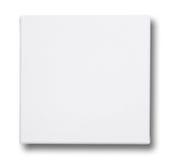 Vierkant canvas op een brancard Stock Foto's