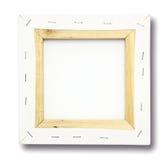 Vierkant canvas op een brancard Stock Afbeeldingen