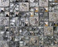 Vierkant decoratief paneel Royalty-vrije Stock Afbeeldingen