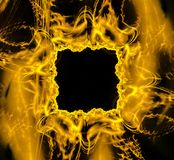 Vierkant fantastisch abstract kader Stock Foto