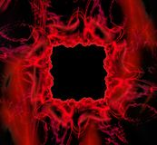 Vierkant fantastisch abstract kader Royalty-vrije Stock Fotografie